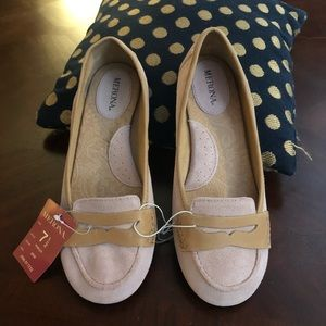 NWT Merona Flats Suede Leather Pink
